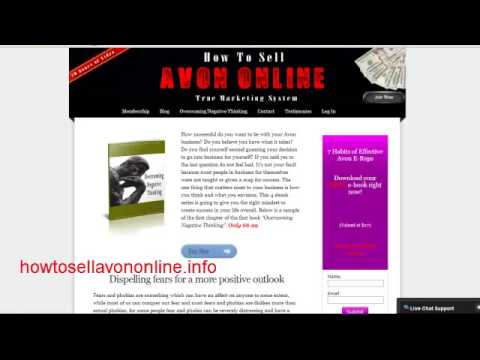How to sell Avon | Better Avon Business Mapping Out Plan