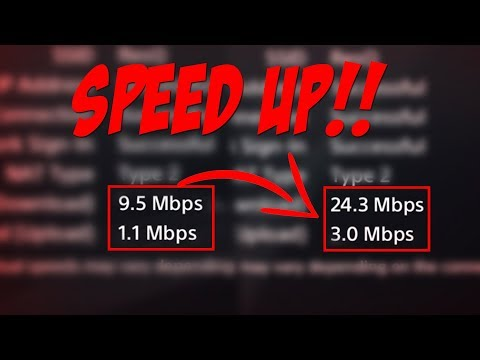 [EASY 2018] HOW TO INSTANTLY SPEED UP YOUR INTERNET (PS4)