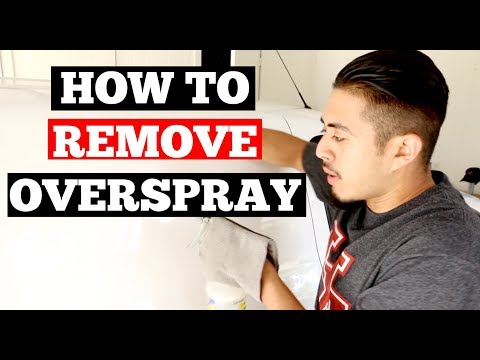 How To REMOVE OVERSPRAY From Car Paint - Auto Detailing Tips