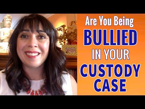 Do You Feel Bullied or Threatened by Your Ex in Your Custody Case?