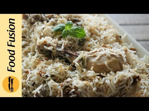 Special White Biryani Recipe By Food Fusion