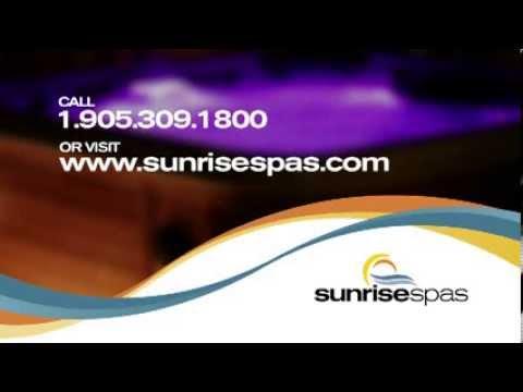 Sunrise Spas Retail and Dealer Video
