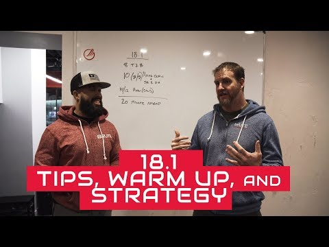 18.1 Tips, Warm up and Strategy