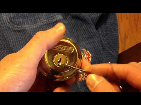Schlage review lock pick