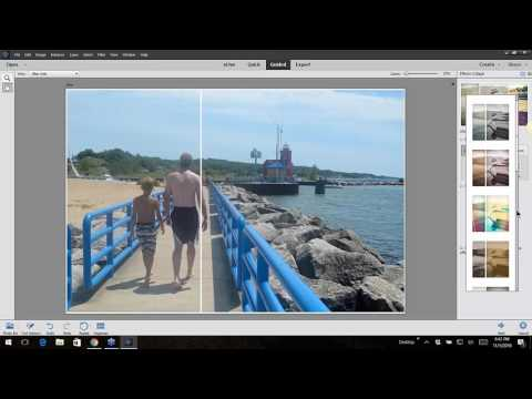 How to Use the Collage Effects in Adobe Photoshop Elements 15