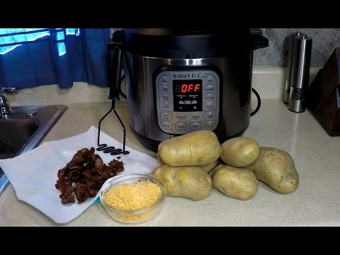 Instant Pot Bacon Cheddar Mashed Potatoes