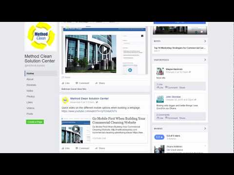 Best way to upload videos to facebook business page