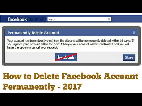 How to Delete your Facebook Account ? 👈😎👍