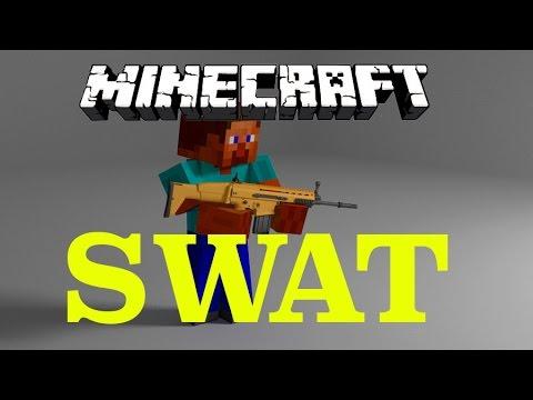 BRAND NEW Minecraft SWAT Minigame (Halo / Call of Duty)