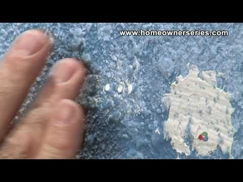 How to Fix Drywall - Repairing Nail Holes - Drywall Repair