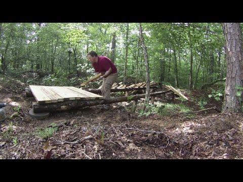 Making a Campsite Series, Building the Bridge part 2