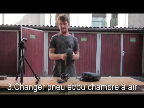 Max Rider Tuto Mécano, changement pneu et/ou chambre à air