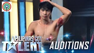 Pilipinas Got Talent Season 5 Auditions: Lito Tamayo - Muscle Flex Performer