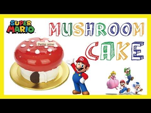 Super Mario cake mushroom cake 슈퍼마리오 버섯 케이크 만들기