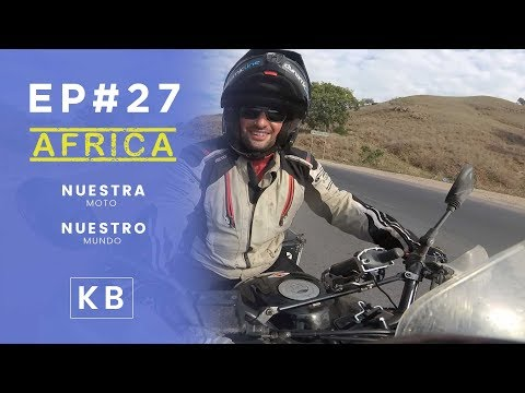 Cruzando Angola en moto (parte1)- Ep#27 - Vuelta al Mundo en Moto