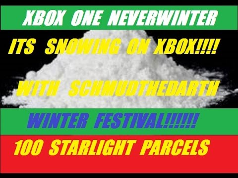 Xbox One 100 Starlight Parcels On Neverwinter