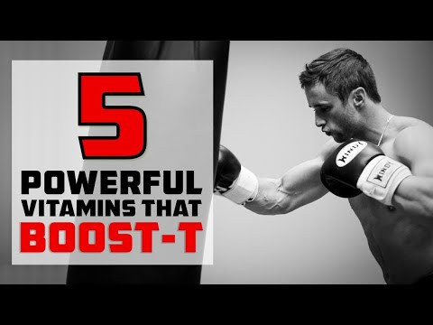 5 Powerful Vitamins That Naturally Increase Your Testosterone Levels