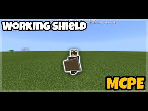 Minecraft PE: Working Shield Tutorials