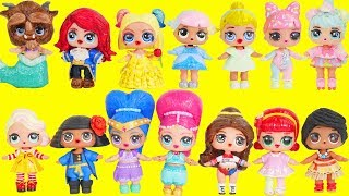 Download LOL Surprise Dolls Wrong Heads + Dress Up Family with Lils Fuzzy Pets   Toy Egg Video