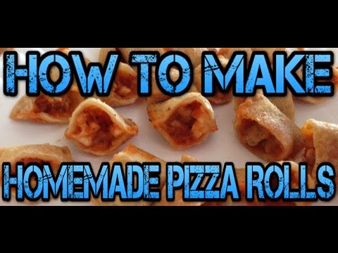 How To Make Homemade Pizza Rolls