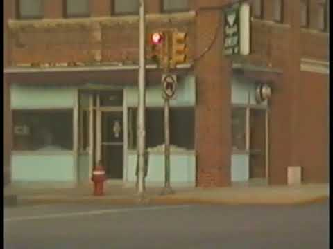 KINGSPORT, TENNESSEE, DOWNTOWN 1986