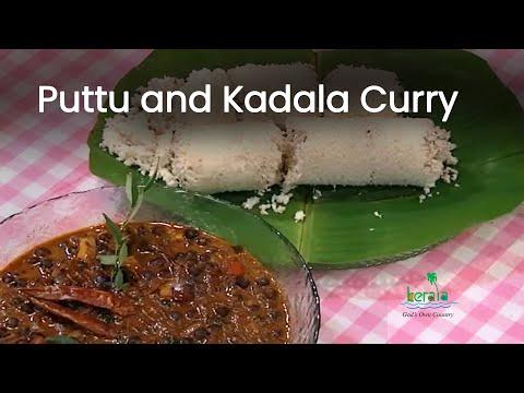 Puttu and Kadala Curry Recipe