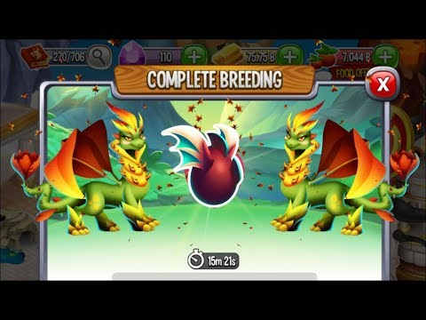 New Nature Dragon vs New Nature Dragon | Dragon City [RARE BREEDING DRAGON]