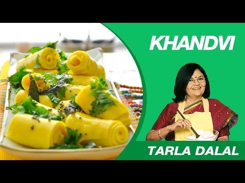 Khandvi Recipe by MasterChef Tarla Dalal | Gujarati Delicacy