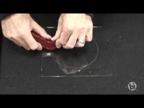 Cutting Glass Circles