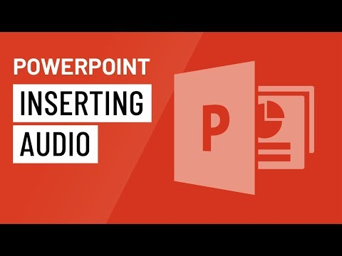 PowerPoint 2016: Inserting Audio