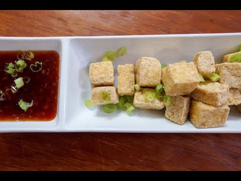 Air Fried Tofu   SAM THE COOKING GUY