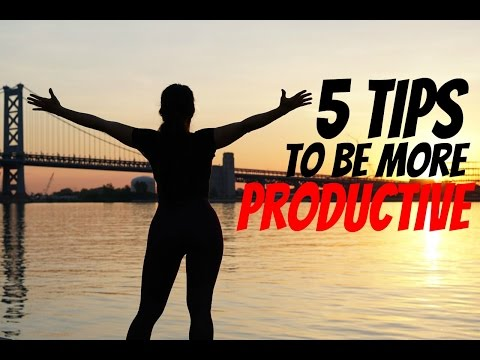 5 Tips to Boost Productivity | Morning Motivation Ep. 8
