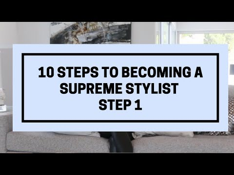 How To Become A Personal Stylist Step 1