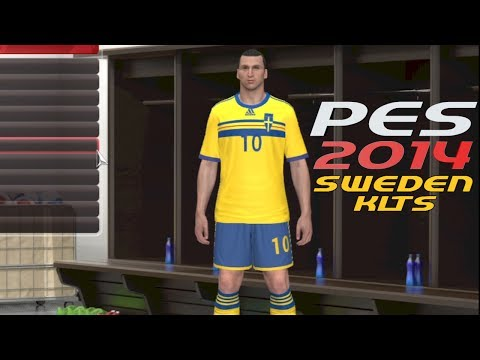 PES 2014 How to Create Sweden Jerseys with Emblem