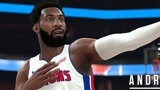 NBA 2K18 Andre Drummond Screenshot and Rating!