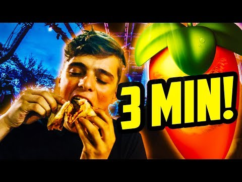 MARTIN GARRIX - PIZZA in UNDER 3 MINUTES! (THE LUIGY SHOW #3)