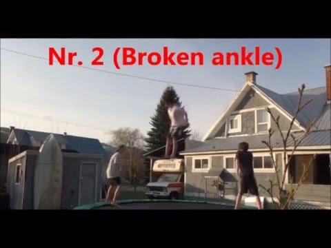 Top 6 Worst Trampoline accidents