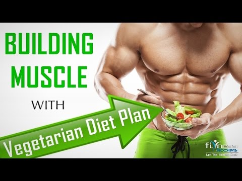Vegetarian bodybuilding diet plan | Full day of eating to gain muscles | Fitness Rockers