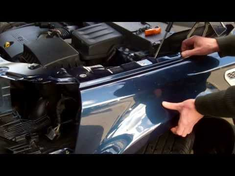 How to remove the front wing on Land Rover Freelander 2/LR2