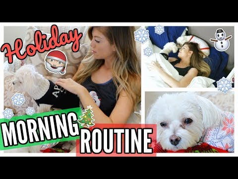 MY WINTER MORNING ROUTINE & GIVEAWAY