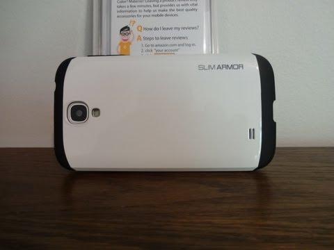 Galaxy S4 SPIGEN SGP Slim Armor Dual Layer Case Review