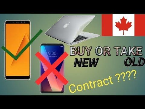 Indian mobile and laptop in canada, will they work ? mobile in contract
