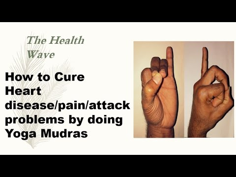 How to Cure Heart Disease Problems by doing yoga mudra