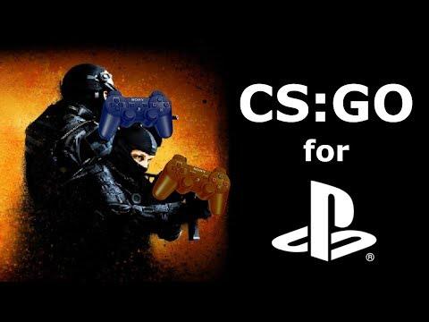 CS:GO for the PS4 (April Fools)