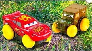 Disney Pixar Cars 3 Lightning McQueens Dream, Mater, Disney Cars Toys Stories For Kids FULL Movie