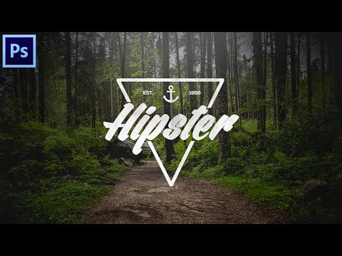 Tutorial: How To Make An Authentic Hipster Logo Using Photoshop!