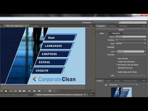 Adobe Encore Basics 2: Creating Menus