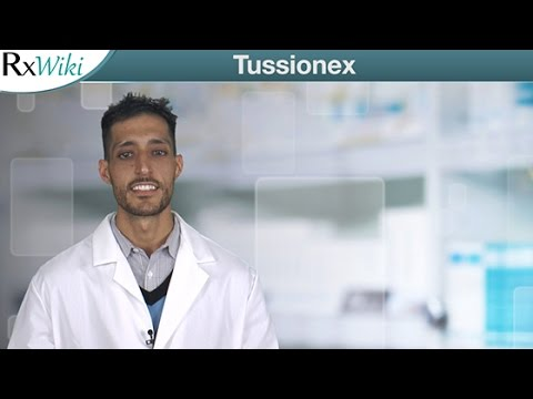 Tussionex To Treat Coughs and Upper Airway Symptoms with Allergies and Colds - Overview
