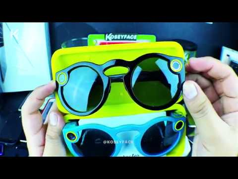 Snapchat Spectacles Glasses Thorough Unboxing, Review, Video Samples