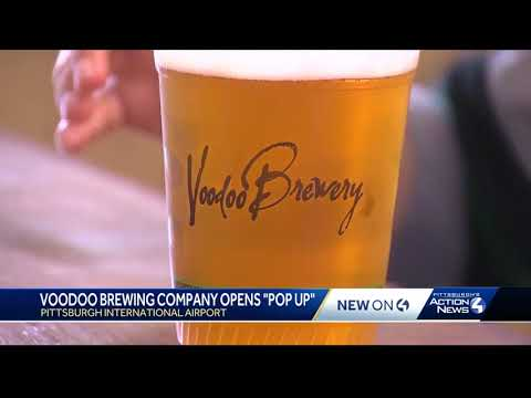 Voodoo Brewery opens pop-up pub at Pittsburgh International Airport